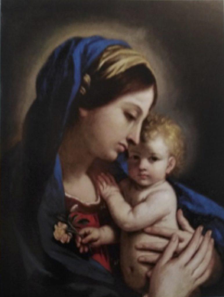 Fig. 6 - Cesare Gennari, Madonna della rosa, 1676, già Milano, Finarte, vendita 5 marzo 2008