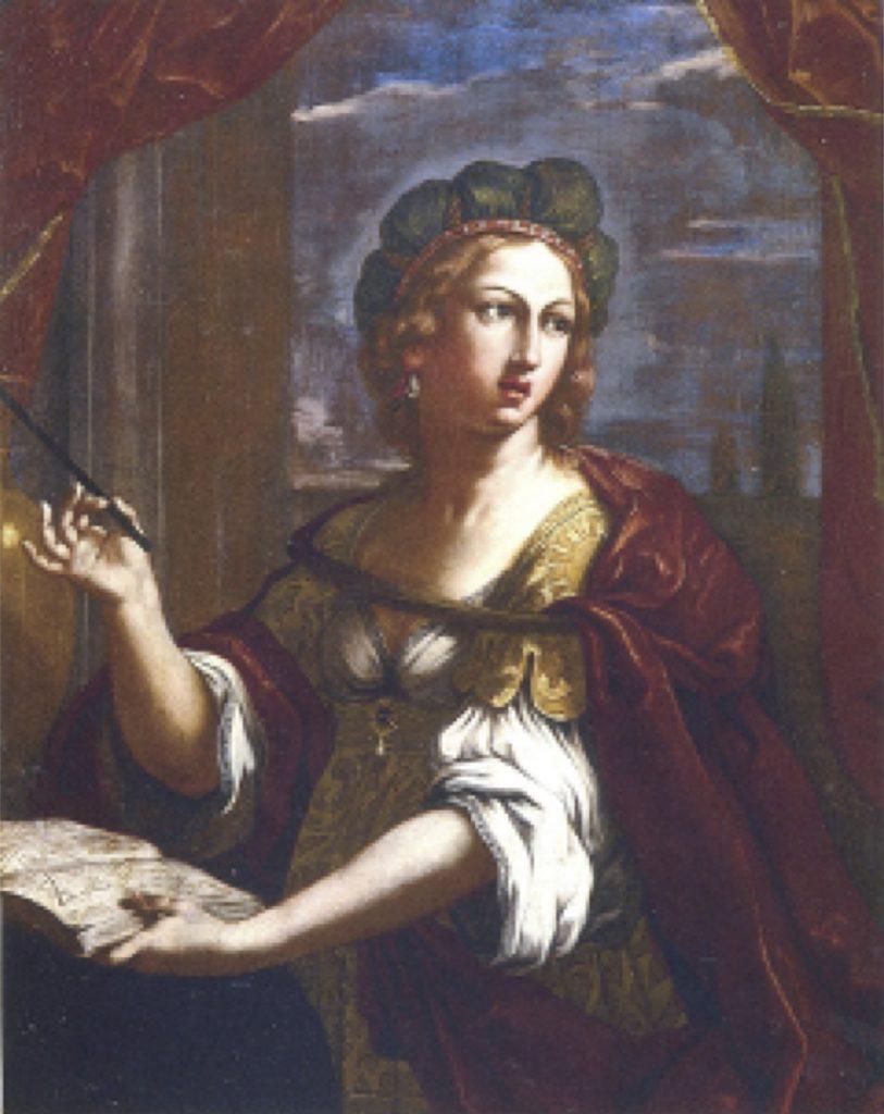 Fig. 9 - Elisabetta Sirani, Autoritratto come Maga Circe, 1657, collezione privata