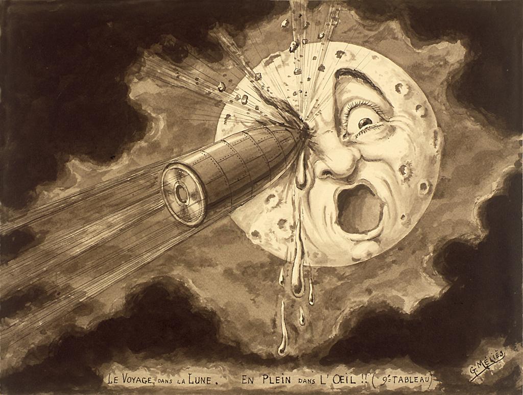 Fig. 13 - Georges-Melies, Le voyage dans la lune, 1902