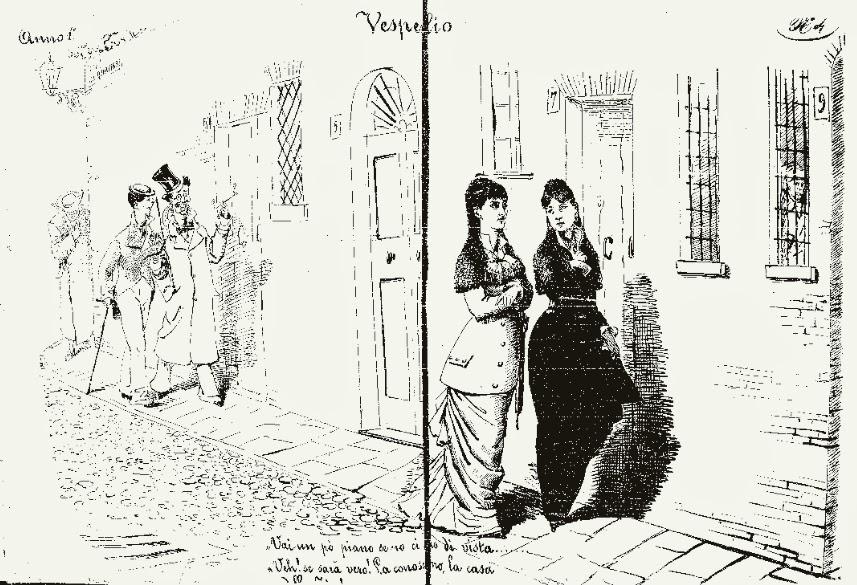 "Fig. 2 - ""Il Vespertilio"", 4, 6-7 aprile 1879, pp. 2-3"