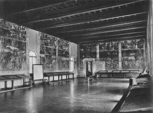 Fig. 1 - Il Salone nei Mesi agli inizi del Novecento in una foto Vecchi-Graziani